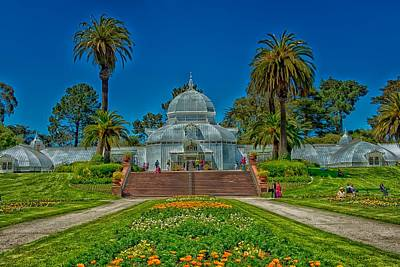 Conservatory Of Flowers Photograph - Conservatory Of Flowers - San Francisco by Mountain Dreams