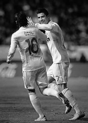Athletes Royalty-Free and Rights-Managed Images - Cristiano Ronaldo 10 by Rafa Rivas