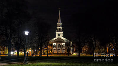 Photograph - First Congregational Church Of Guilford. by New England Photography