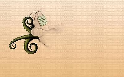 Cthulhu Wall Art - Digital Art - Cthulhu by Super Lovely