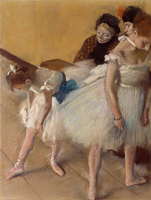 Degas Pastel - Dance Examination by Edgar Degas