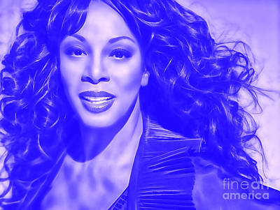Donna Summer Collection Art Print by Marvin Blaine