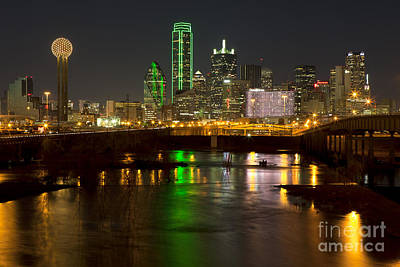 Metroplex Office Photograph - Downtown Dallas, Texas by Anthony Totah