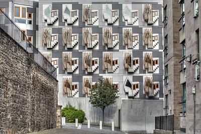 Architektur Photograph - Edinburgh - Scotland by Joana Kruse