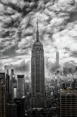 Street View Photograph - Empire State by Martin Newman