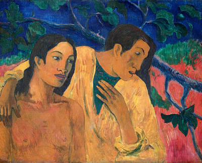 Suggestive Painting - Escape by Paul Gauguin