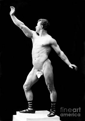 Suggestive Photograph - Eugen Sandow, Father Of Modern by Science Source