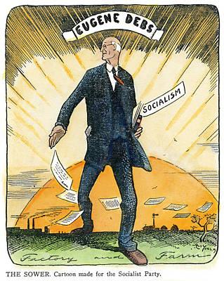 Sunrise Drawing - Eugene Debs, 1855-1926 by Granger