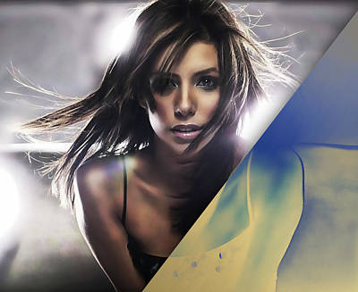 Eva Longoria Collection Art Print