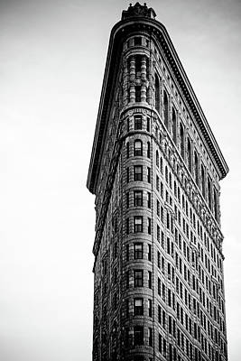 Photograph - Face Of Flatiron  by Robert J Caputo