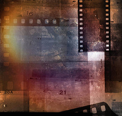 Digital Art - Film Strips by Les Cunliffe