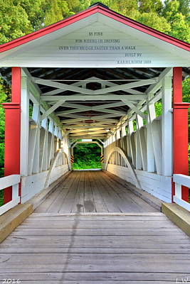 Photograph - $5 Fine For Riding Or Driving Over This Bridge Faster Than A Walk by Lisa Wooten