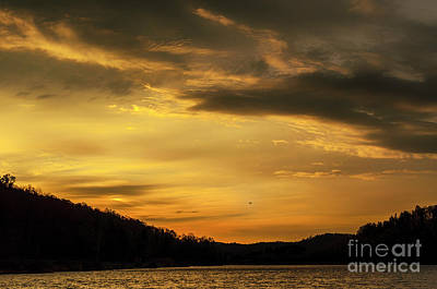 Photograph - First Light Big Ditch Lake by Thomas R Fletcher