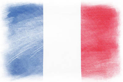 French Flag Art Print by Les Cunliffe
