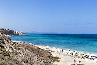 Photograph - Fuerteventura Playa Butihondo by Pietro Ebner