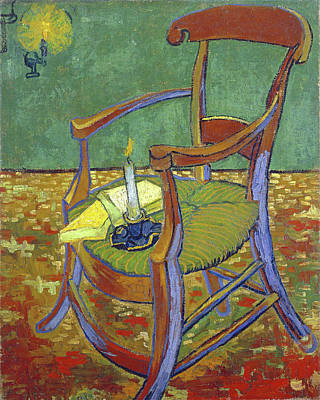 Painting - Gauguin's Chair by Vincent van Gogh