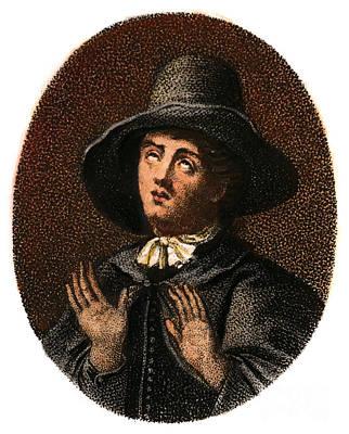 Digital Art - George Fox, 1624-1691 by Granger