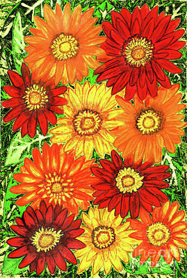 Painting - Gerbera by Irina Afonskaya