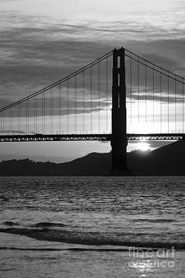 Golden Gate Bridge In San Francisco Art Print by ELITE IMAGE photography By Chad McDermott