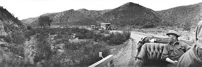 Dirt Roads Photograph - Goodyear Wingfoot Express by Underwood Archives