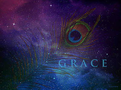Digital Art - Grace by Richard Laeton