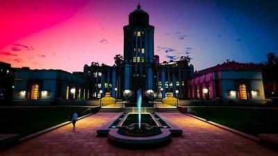 University Digital Art - Grand Theft Auto V by Super Lovely
