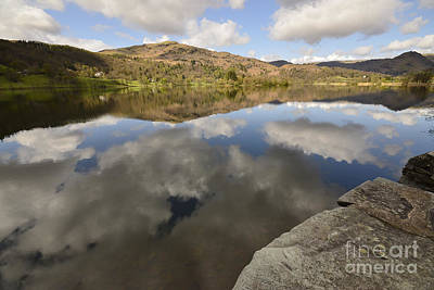 Lake District Wall Art - Photograph - Grasmere by Smart Aviation