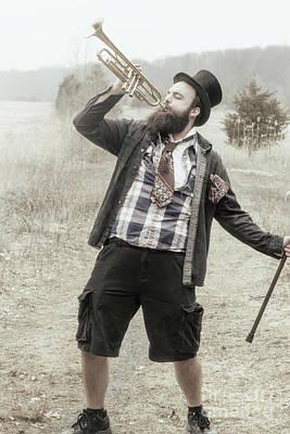 Gypsy Trumpet Art Print