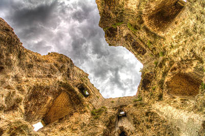 Photograph - Hadleigh Castle by David Pyatt