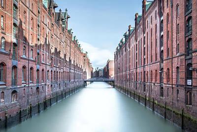 Inner Harbor Wall Art - Photograph - Hamburg - Germany by Joana Kruse