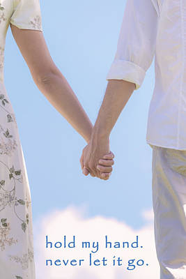 Consolation Photograph - Hand In Hand by Joana Kruse