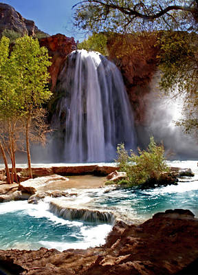 Wilderness Camping - Havasu Falls by Martin Massari