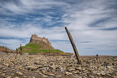 Northumberland Photograph - Holy Island Of Lindisfarne by Smart Aviation