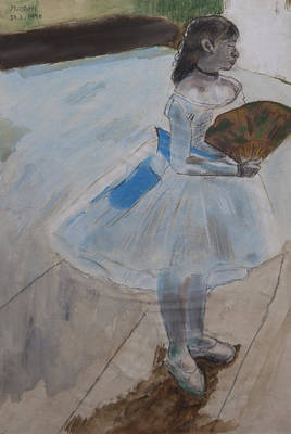 Mixed Media - homage to Degas by Masami Iida