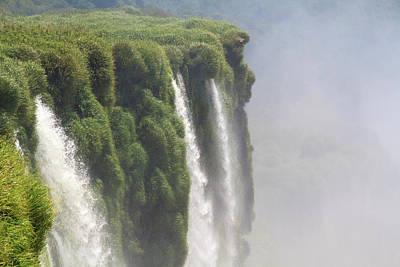 Photograph - Iguazu Falls by Silvia Bruno
