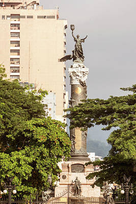 Photograph - Independence Monument In Guayaquil Ecuador  by Marek Poplawski