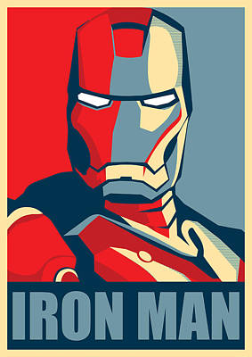 Genius Wall Art - Digital Art - Iron Man by Geek N Rock