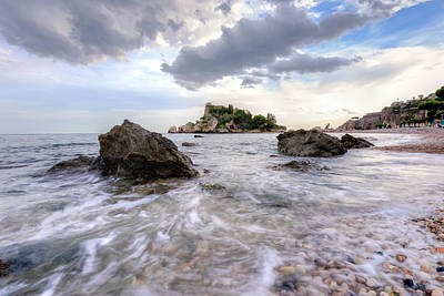 Southern Europe Photograph - Isola Bella - Sicily by Joana Kruse