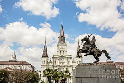 Jackson Square Art Print by Scott Pellegrin