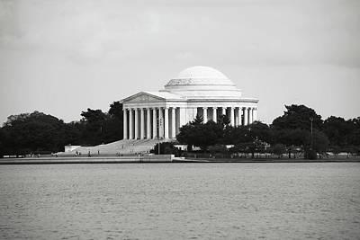 Photograph - Jefferson Memorial In Washington Dc by Brandon Bourdages