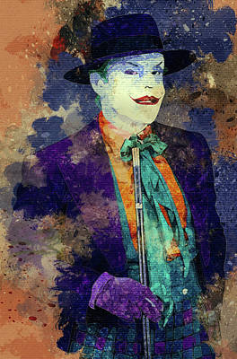 Joker Art Print by Elena Kosvincheva