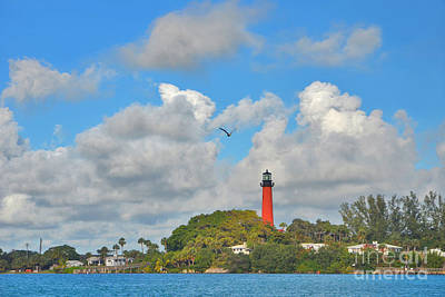 Photograph - 5- Jupiter Lighthouse by Joseph Keane