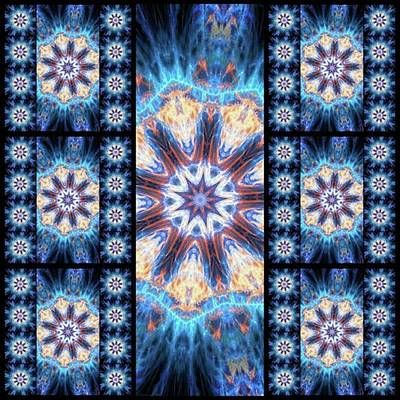 Photograph - #kaleidoscope #mandala #art #digitalart by Michal Dunaj