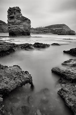 Photograph - Ladram Bay by Pete Hemington