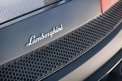 Photograph - #lamborghini #gallardo Lp570-4 #superleggera #edizione #technica #print by ItzKirb Photography