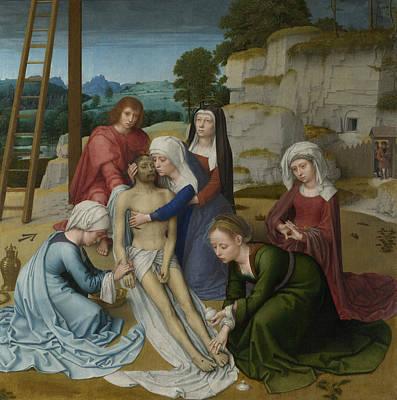 Painting - Lamentation by Gerard David