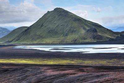 Berge Photograph - Landmannalaugar - Iceland by Joana Kruse