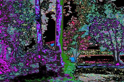 Etc Digital Art - Landscape Abstraction by Anand Swaroop Manchiraju