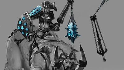 Landmark Digital Art - League Of Legends by Maye Loeser