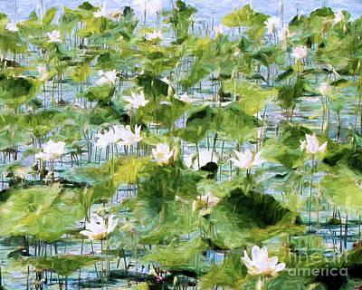 Photograph - Lilies by John Freidenberg
